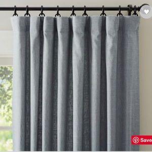 PB Emery lined curtain